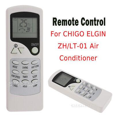 Smart Remote Control Replacement For CHIGO ELGIN ZH/LT-01 Air Conditioner  (Air Conditioner Remote Control)