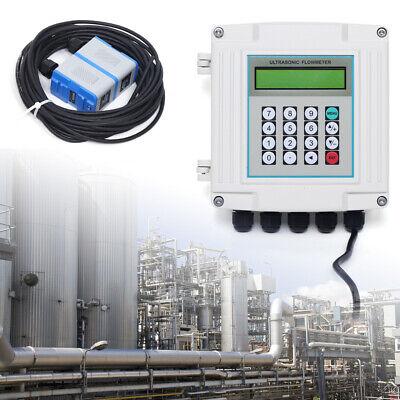 Liquid Flow Meter Ultrasonic Flow Meter Tm-1 High Temp Transducer Dn50 To 700mm