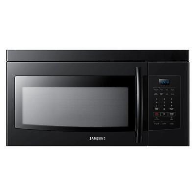 Samsung 1.6 cu. ft. 1000 Watts Over The Range Microwave Oven in Black