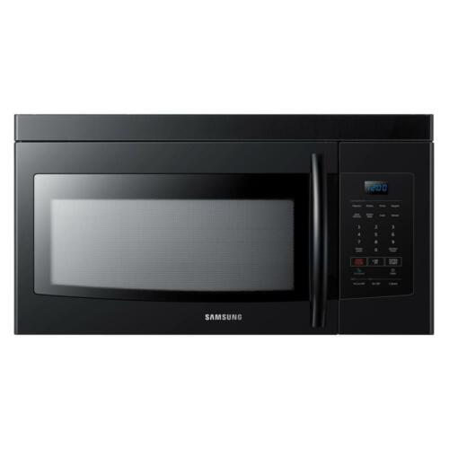 Samsung - 1.6 Cu. Ft. Over-the-Range Microwave - Black