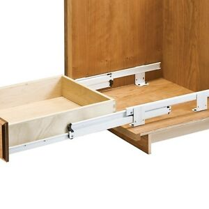 22 Quot Floor Mount 1 1 2 Quot Overtravel Rollout Tray Slides