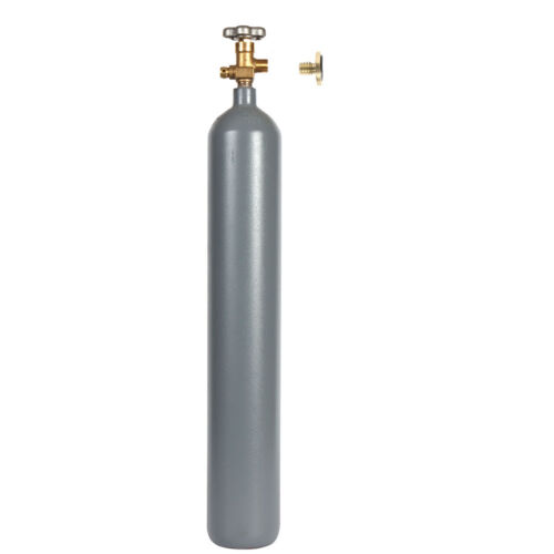 7 lb CO2 Steel Cylinder Reconditioned with Leak Stopper - CGA320 - Free Shipping