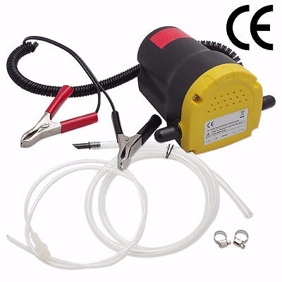 Electric Motor Oil Diesel Oil Extractor Scavenge Suction Transfer Change Pump Us