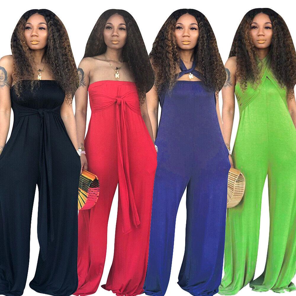 Women Color Block Casual Club Party Long Coat Cloak Short Bottoms Jumpsuit 2pcs