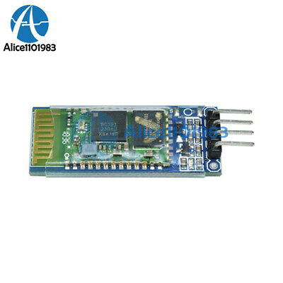 2pcs Wireless Serial 6 Pin Bluetooth Rf Transceiver Module Hc-05 Rs232