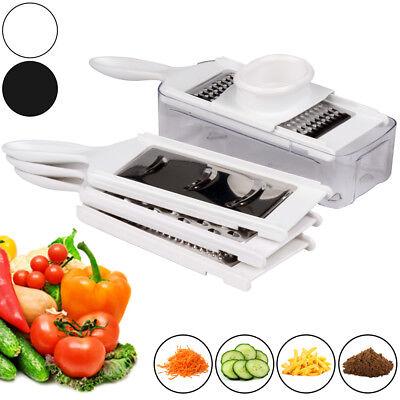 Gemüsehobel Reibe Multireibe Gemüseschneider Gemüsereibe Küchenreibe Set 6teilig ()