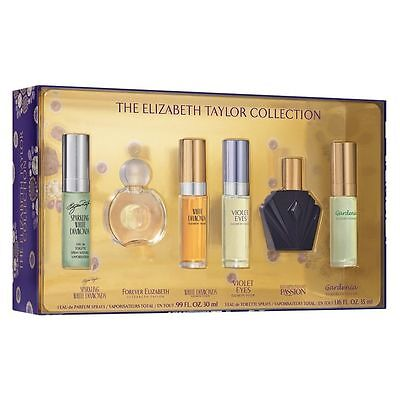 Elizabeth Taylor 6Pcs  Mini Variety Set For Women New In Set Box
