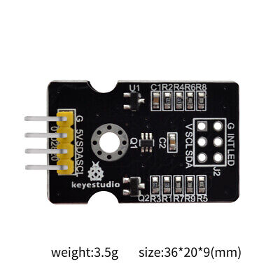 Keyestudio Tcs34725 Rgb Light Color Sensor Recognition Module For Arduino Mega