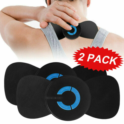 2X EMS Portable Mini Electric Neck Massager Cervical Massage Tool USB Charging Health & Beauty