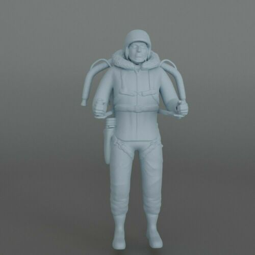 Moebius CHARIOT 1:24 Lost In Space DON West JOHN Robinson Figure 3D printed