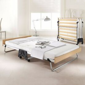 Jay Be Double Folding Bed With Memory Foam Mattress - only used once