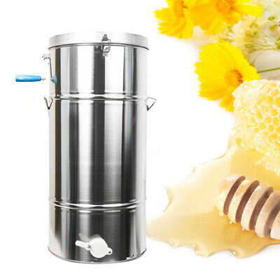 Two 24 Frame Honey Extractor Stainless Steel Beekeeping Equipment Durable