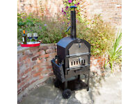 BRAND NEW OUTDOOR CHARCOAL BARBECUE PIZZA OVEN