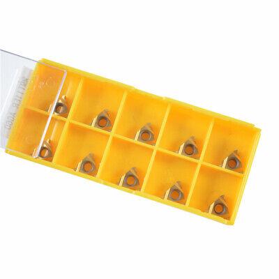 10pcs Mmt 11er Ag60 Us735 Carbide Insert Blade Lathe Threading 11er 14 Ag60