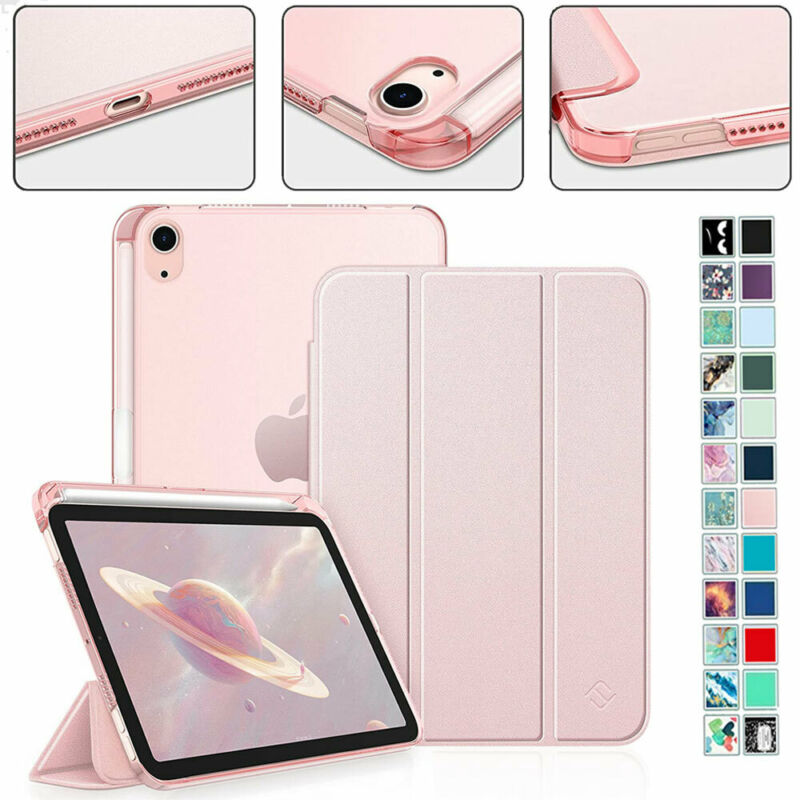 Case for iPad Mini 6th Generation2021 Slim Lightweight Stand Cover Pencil Holder