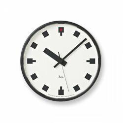 Lemnos Wall Clock Hibiya no Tokei RW12-04 Design by Riki Watanabe Japan 1A2779