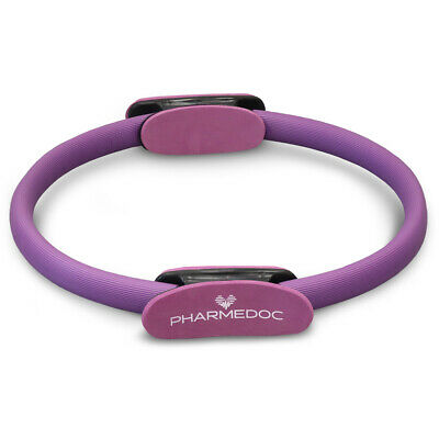 Pilates Ring 14 inch Premium Exercise Fitness Circle to Tone Muscles and Workout