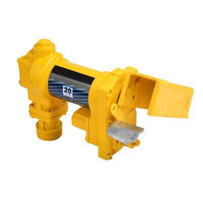 Portable Fuel Transfer Pump 12 Volt 20 Gpm Diesel Gas Gasoline Kerosene Us