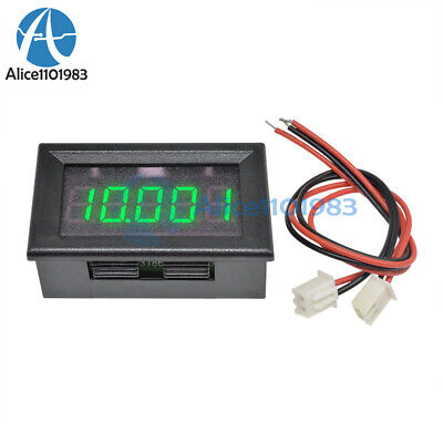 Green Led 5 Digit Dc 0-4.3000-33.000v Digital Voltmeter Voltage Meter Car Panel