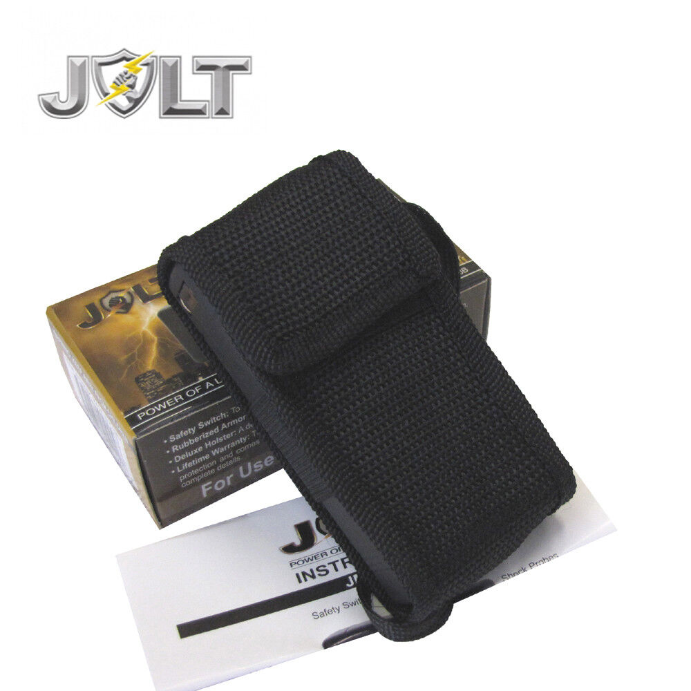 Jolt Mini 86,000,000 Stun Gun Police Magnum PEPPER SPRAY Combo Set - BLACK - $18.87