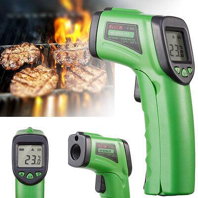Laser Temp Gun - Temp Meter Temperature Gun Non-contact Digital Laser Infrared IR Thermometer New