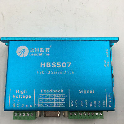 3phase Stepper Driver Dc18-48v 7a Hbs507 For Nema23 Motor Cnc Leadshine Es-d508