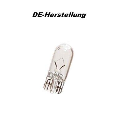 DE T10 12V 5W Standlicht Birne Kennzeichen Lampe Innen-Beleuchtung Leselicht W5W