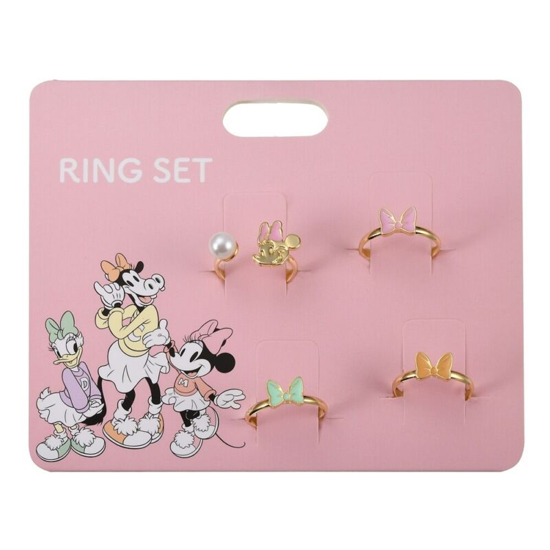 NEW Disney Minnie Mouse Adjustable Bow Rings Kawaii Japan NEW IN PACKAGE! NWT