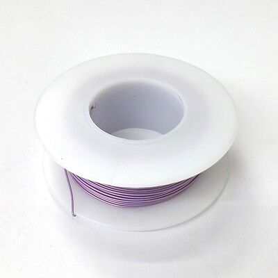 100 Page 28awg Violet Kynar Insulated Wire Wrap Wire 100 Foot Roll Made In Usa