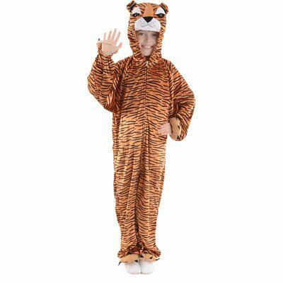 Kostüm TIGER Gr. L (7-8 Jahre) *NEUWERTIG* Fasching Karneval Tier-Kostüm (Tiger Kostüm Jungen)