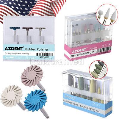 Dental Composite Polishing Kit Rubber Polisher Resin Base For Contra Angle