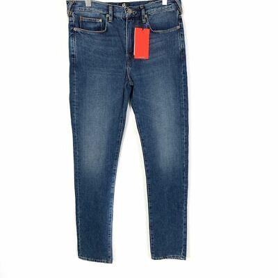 Paul Smith Mens 30 R x 31.5 Jeans Slim Fit Faded Dark Blue 30W 100% Cotton