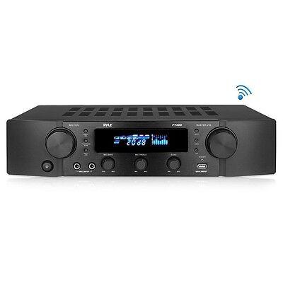 NEW Pyle PT395 Bluetooth Hybrid Home Theater Pre-Amp Receiver MP3/USB/AUX Radio