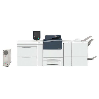 Xerox Versant 180 Press Production Printer Copier Scanner Finisher 25k Meter