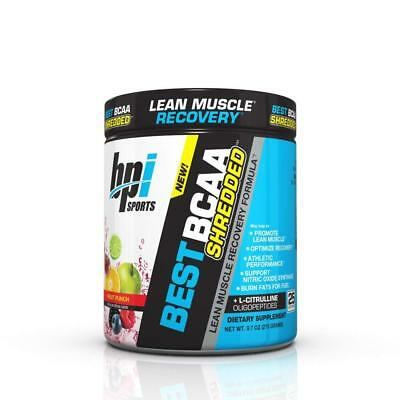 BPI Sports Best BCAA Shredded Caffeine Free Thermogenic Recovery Formula for...