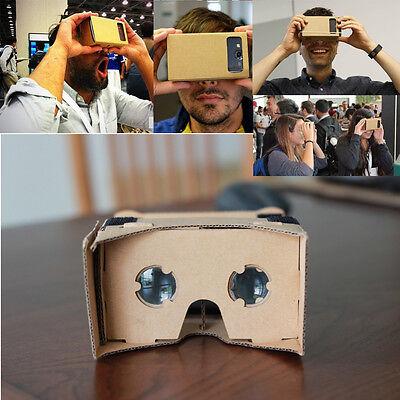 Cardboard Quality 3d VR Virtual Reality Glasses For Google Nexus 4/5,Samsung CIT