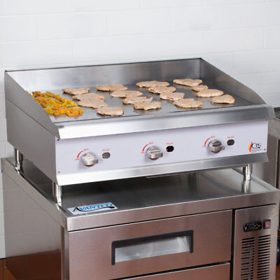 36 Natural Gas Commercial Restaurant Kitchen Countertop Griddle