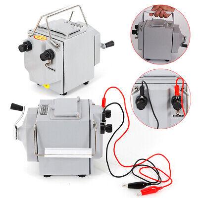 Portable 1000m 1000v Megger Meter Insulation Tester Resistance Meter 120 Rpm
