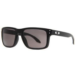911b2eb44c4 Oakley Holbrook Matte Black Warm Gray Men s Sunglasses for sale ...