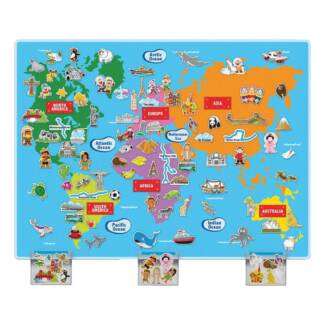 Orchard toys world map jigsaw toys indoor gumtree australia huge world felt map gumiabroncs Image collections