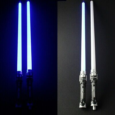 Double LED Weapons Lightsaber Flashing Sabers Light For Star Wars Cos Sword Toys