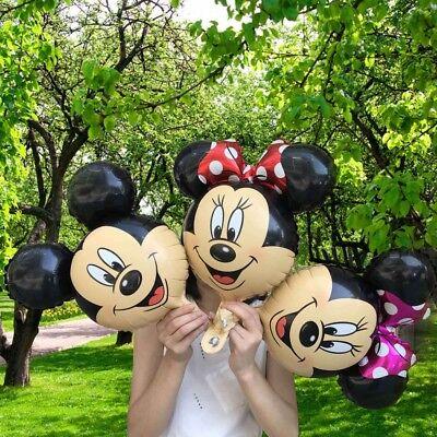 Disney Mickey/Minnie Mouse Supershape Foil Balloon Birthday Decor Ballon Baloon - Disney Ballons