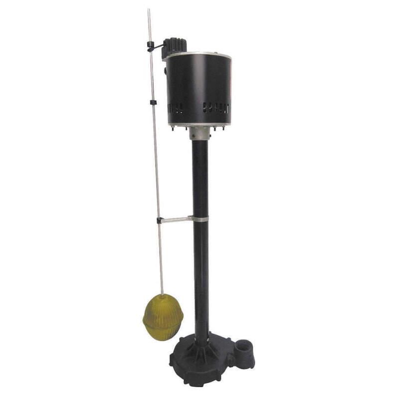 Sump Pump, Max Head 18 ft., 1/3 HP 4KU60