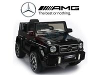 AMG G63 Mercedes Ride on car . Brand NEW - No box only. LIGHT TUNING !!! BARGAIN RPR £200