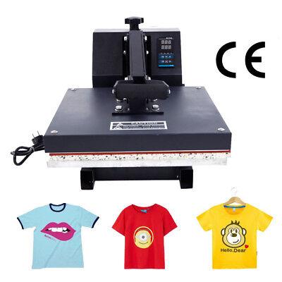 15x15 Digital T-shirt Heat Press Machine Transfer Sublimation Print 1400w 110v