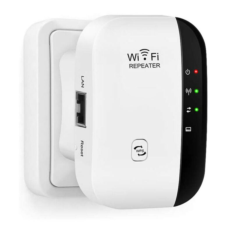 300Mbps WiFi Blast Wireless Repeater Range Extender WifiBlast Amplifier US Plug