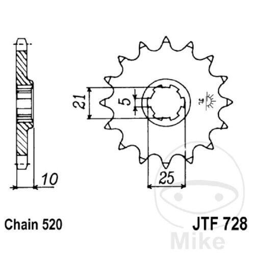 Chain DID 520VX3 Sprocket 15 Sprocket 44 Sterling Cagiva
