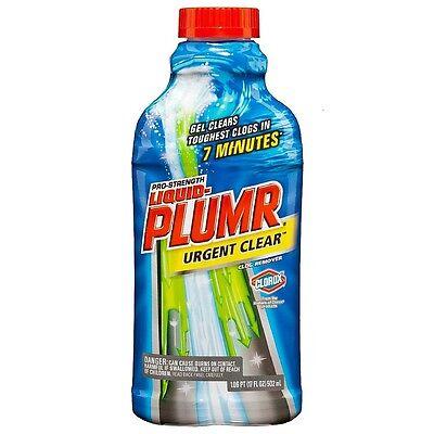 Clorox Liquid-Plumr Pro-Strength Gel Drain Cleaner 17 -