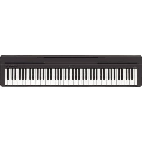 Yamaha P45 Compact 88-Key Graded Hammer Keyboard Portable Digital Piano Keyboard