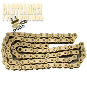 NEW 630 Gold O-Ring Chain 96 Links for Motorcycles